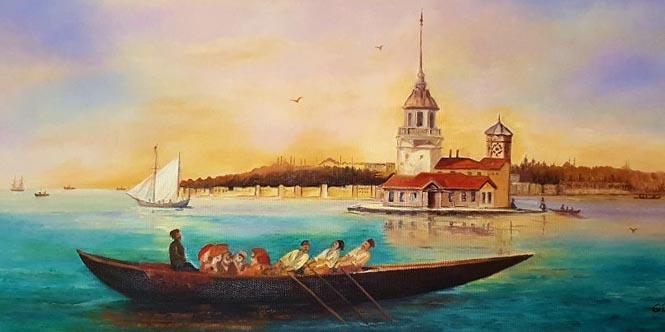 ÜSKÜDAR'LI HOCA ALİ RIZA'YI ANMA RESİM SERGİSİ