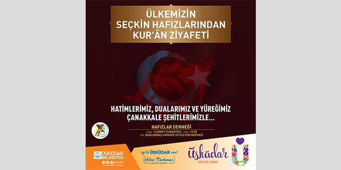 ÜLKEMİZİN SEÇKİN HAFIZLARINDANKUR'AN ZİYAFETİ
