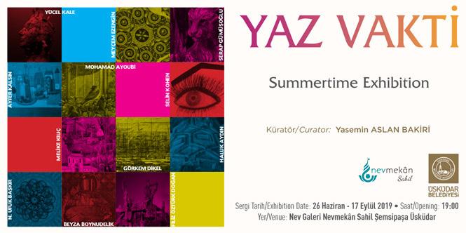 ÜSKÜDAR YAZ VAKTİ SERGİSİ - Summertime Exhibition