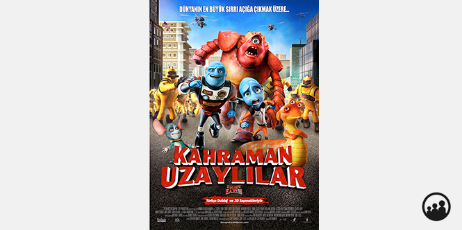 KAHRAMAN UZAYLILAR (ESCAPE FROM PLANET EARTH)