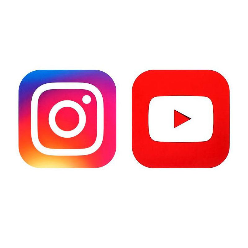 Youtube ve Instagram (Canlı Yayın)
