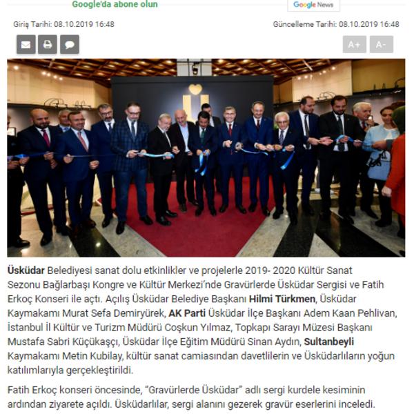 2019-2020 KÜLTÜR SANAT SEZON AÇILIŞI