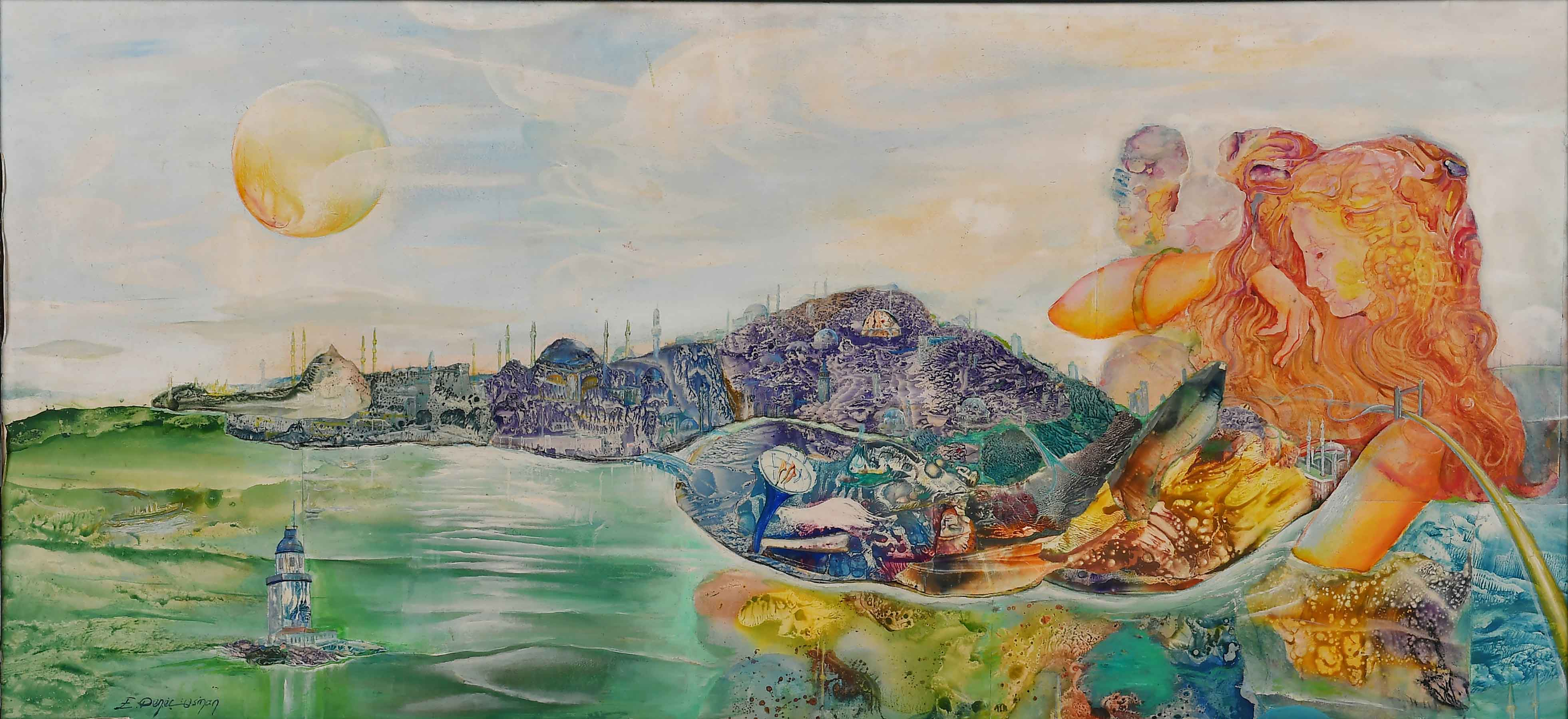 Erol Deneç - Fantastik Realizm Sergisi